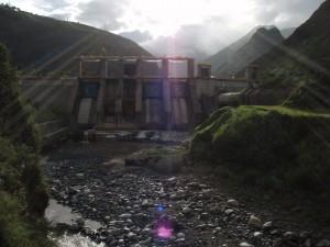 Agoyan dam