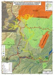 ERI_Map of Proposed Jondachi-Hollin-Misahualli-Napo Ecological Corridor